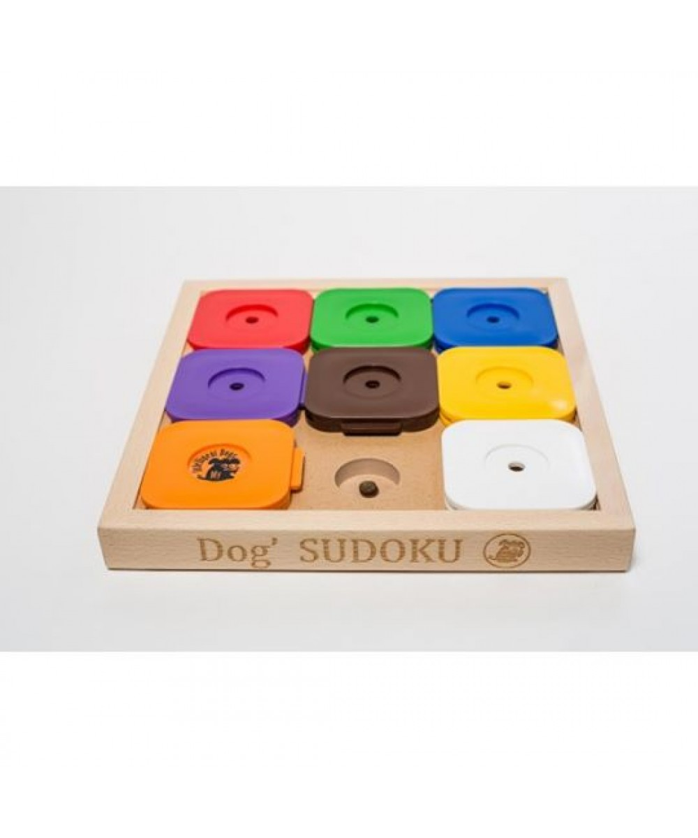 Dog' SUDOKU® Medium Rainbow Profi M/9